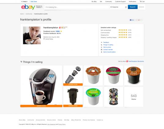 Ebay يعيد تصميم موقعه ويتخلى