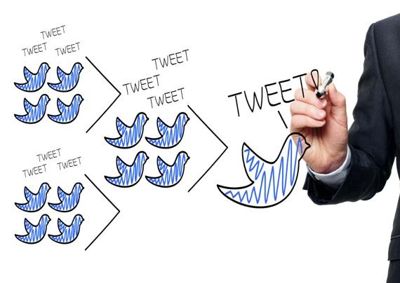 دراسة تكشف زيادة المتابعين تويتر
