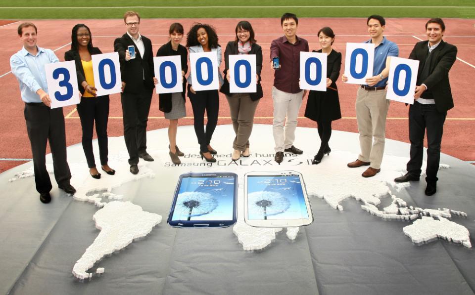 سامسونج تبيع أكثر مليون جهاز