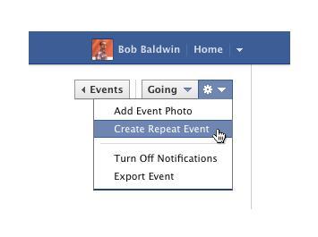 الفيس يمكن المستخدمين تكرار الحدث