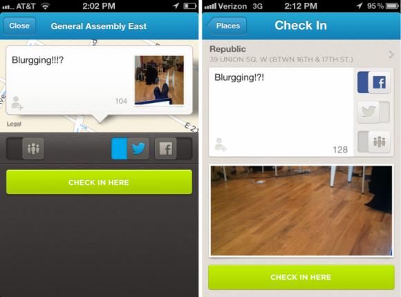 تطبيق Foursquare يحصل تحديث جديد