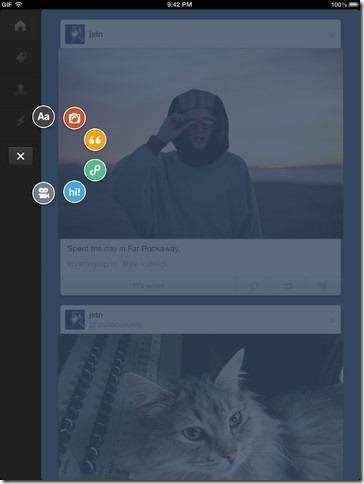 إطلاق تطبيق خدمة تمبلر للايباد