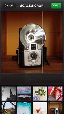 تحسينات كاميرا تطبيق انستقرام إضافة