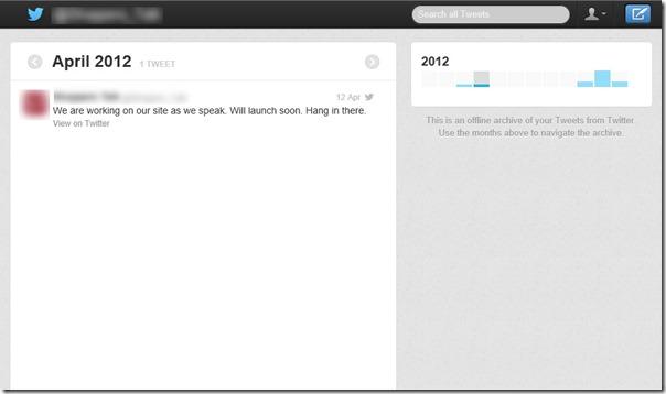 أرشيف تويتر