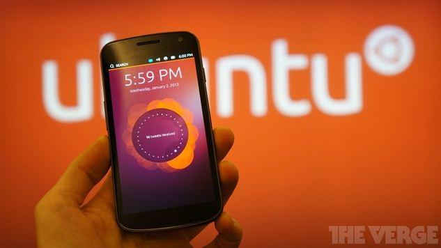 نظام اوبنتو للهواتف الذكية