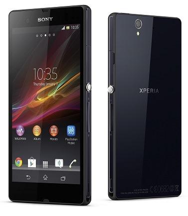 Xperia Z سوني تكشف عن هاتف Xperia Z رسميا ، والمواصفات بالداخل !