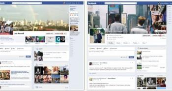 فيس بوك يبدأ بتفعيل تصميم التايم لاين الجديد
