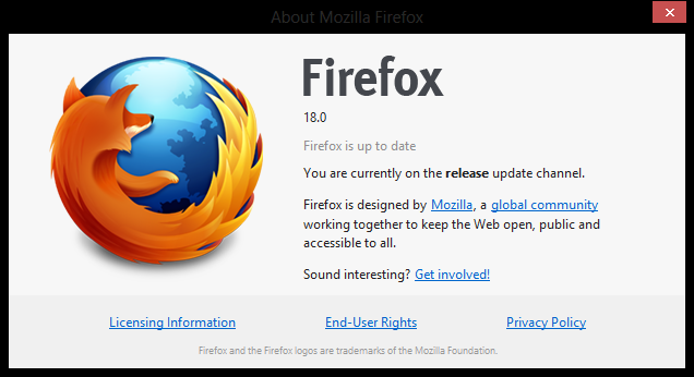 موزيلا تطلق النسخة متصفح فايرفوكس