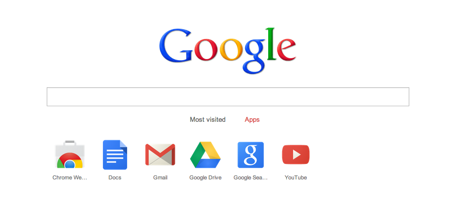 google chrome tab page جوجل تطلق النسخة التجريبية 25 من متصفح الكروم
