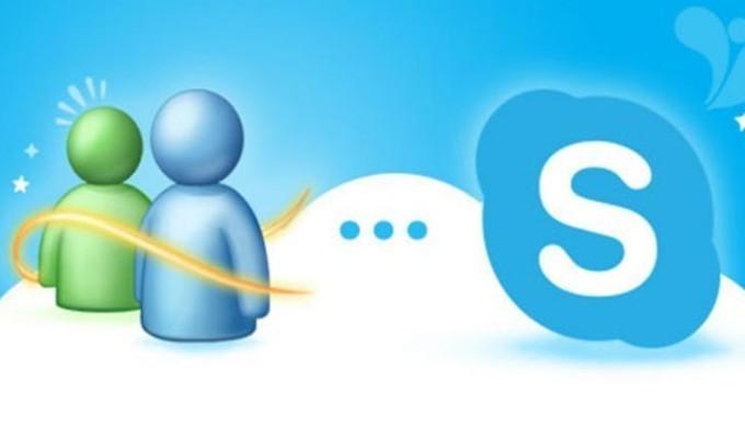 msn messenger skype