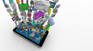Marketing through tablets