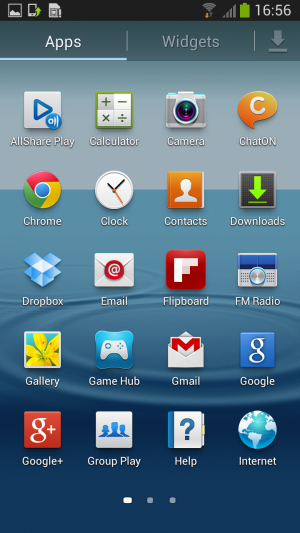 android jelly bean on samsung galaxy s3 5