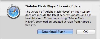 flash blocking