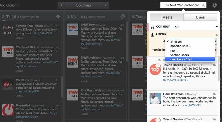 Tweetdeck mac 1