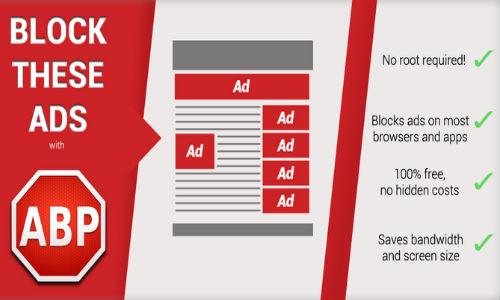 Image result for تطبيق AdBlock Plus