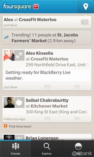bb10 foursquare