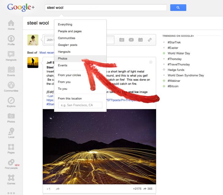 photo search google plus
