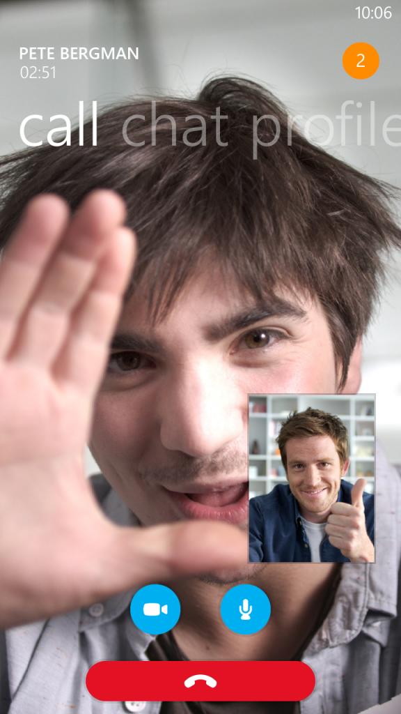 skype HD video calls