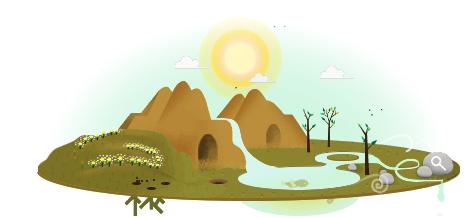 يوم الأرض العالمي جوجل تحتفل في يوم الأرض العالمي