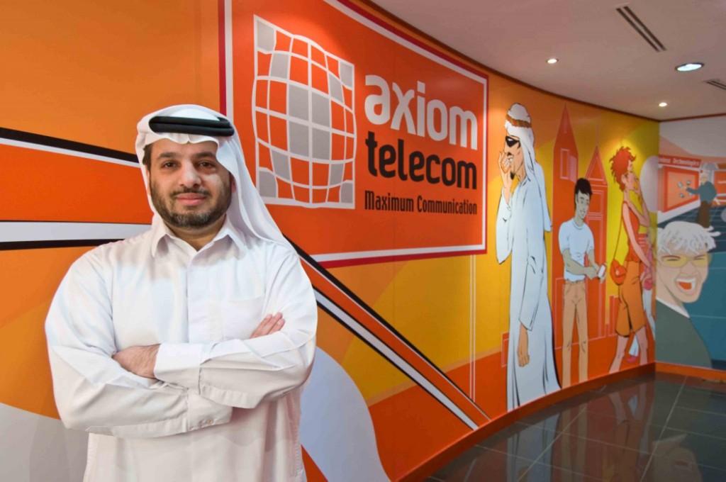 Faisal Al Bannai, CEO of Axiom Telecom