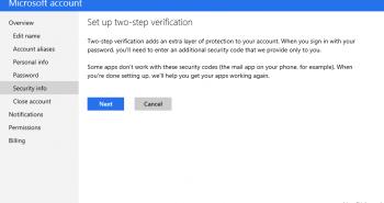 مايكروسوفت ستقدم ميزة التحقق بخطوتين لزيادة أمان المستخدمين