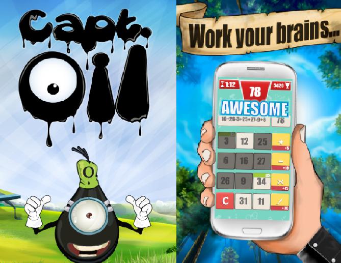 غيم كوكس تطلق Captin Oil وNerds على منصة iOS
