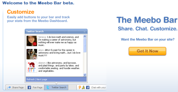 meebo bar
