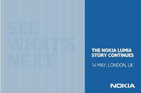 """نوكيا تعلن عن """"الشئ الكبير المقبل"""" يوم 14 مايو في لندن"""