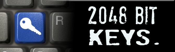 2048 bit key