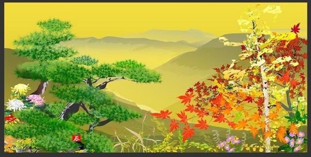1 ku xlarge old Japanese creates paintings on Excel