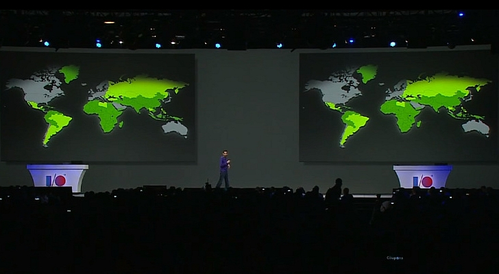 900 تغطية مؤتمر جوجل للمطورين 2013: 900 مليون هاتف أندرويد لدى المستخدمين