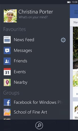 facebook wp app