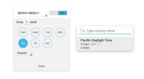 google calendar2 تقويم جوجل لأجهزة أندرويد يحصل على مميزات جديدة
