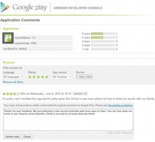 google-play-replying