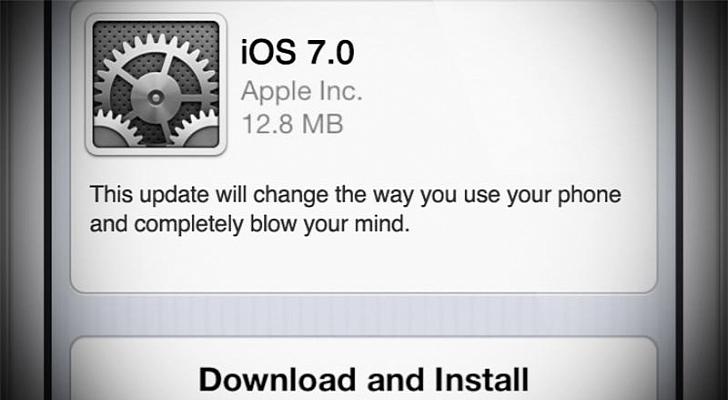 ios7 أونسوايب: أبل تختبر حالياً نظام iOS 7