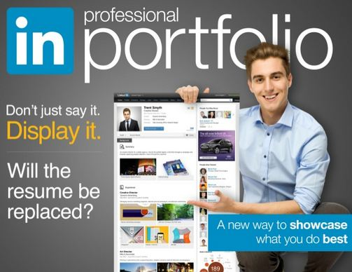 linkedin visual profile