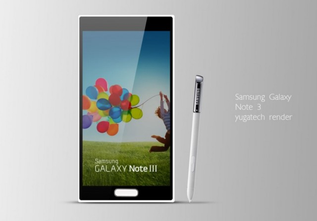 note 3 Samsung confirms the arrival of the Galaxy Note 3 with new features
