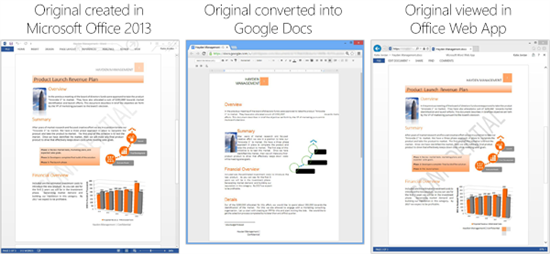 office vs google docs