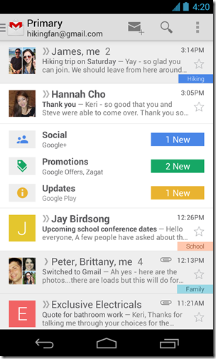 thumb Google launches a new way to browse messages in an e-Aljimil