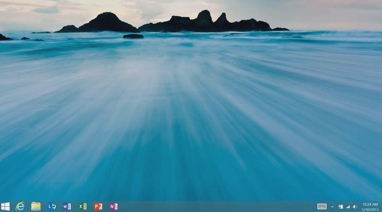زر ابدأ في ويندوز 8.1