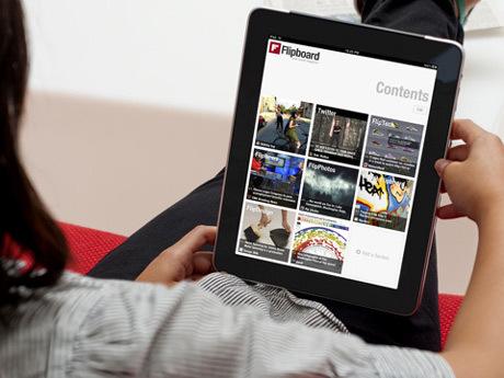 ينوي إطلاق خدمة قارئ خلاصات Flipboard-facebook.jpg