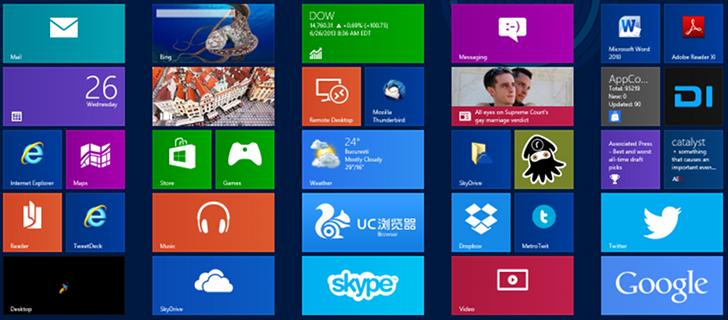 mo واجهة مايكروسوفت أوفيس الجديدة لويندوز 8.1 قادمة عام 2014