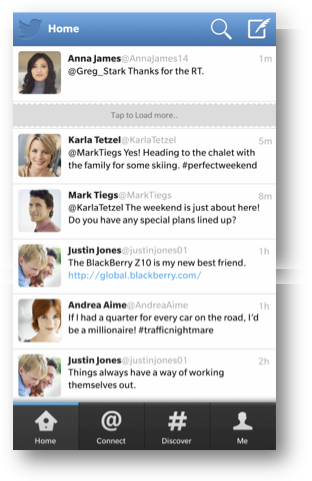 14 new update for the Twitter application on BlackBerry devices 10