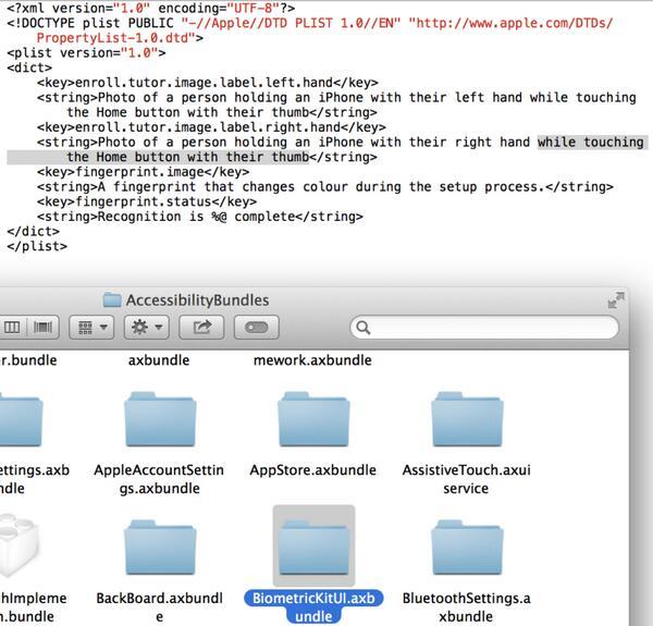 Apple references iPhone fingerprint sensor in latest iOS 7 beta