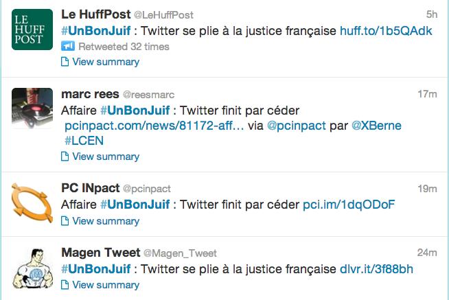 Good Jew تويتر يسلم بيانات مستخدمين نشروا تغريدات عنصرية