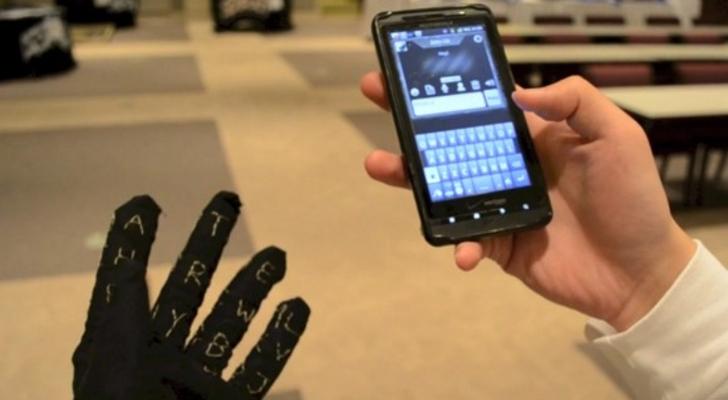 مثال عن التكنولوجيا القابلة للارتداء على شكل لوحة مفاتيح