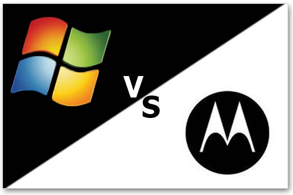 Microsoft vs Motorola 1 مايكروسوفت تقاضي الجمارك الأمريكية لفشلها بمنع دخول هواتف موتورولا