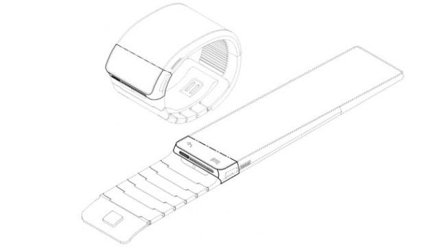 تصميم جالاكسي جير من سامسونج سامسونج تكشف عن ساعتها الذكية Galaxy Gear في 4 سبتمبر