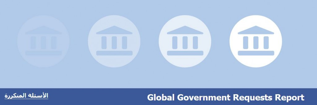 تقرير الشفافية فيس بوك 1024x341 فيس بوك تنشر أول تقرير شفافية عن طلبات الحكومات