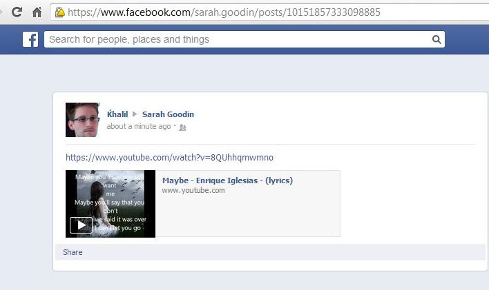 عربي يخترق صفحة مارك زوكربيرج